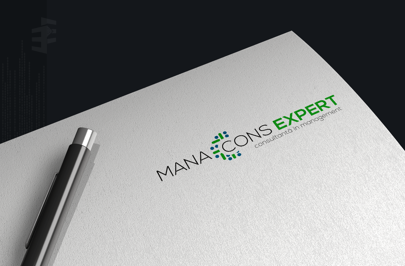 Work Example of Logo and Branding Design  for Manacons Expert